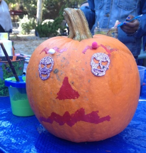 Skull Eyes Pumpkin 10/2104